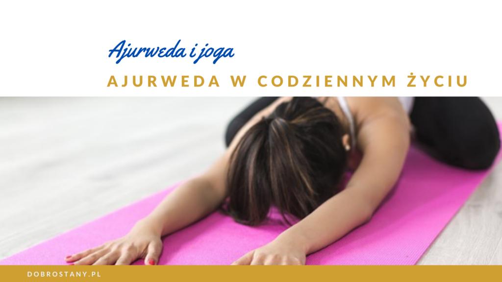 Ajurweda i joga